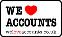 We Love Accounts Logo
